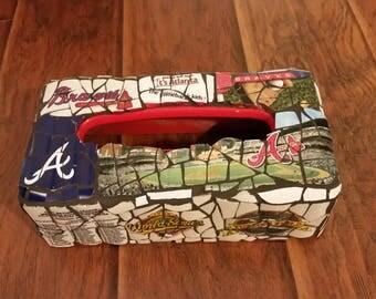 Atlanta Braves Tissue Box Cover