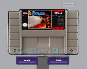 "SPECIAL ORDER! ""The Firemen"" Unreleased Super Nintendo SNES Action Shooter!"