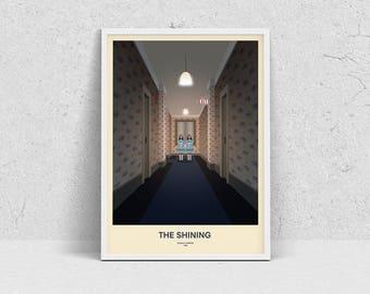 THE SHINING - fan art, cult film, movie poster