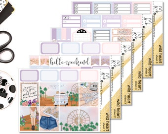Wild Heart II Perfect For The Erin Condren Life Planner II