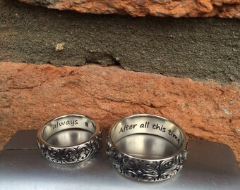 Personal engraving on rings, pendants and other ornaments from Kochut