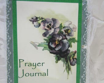 Prayer junk journal devotional notebook (based on thoughts of Phillips Brooks)