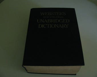 Webster's Universal Unabridged Dictionary