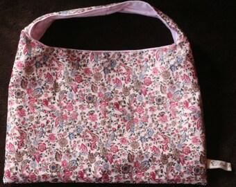 Reversible handbag for little coquette