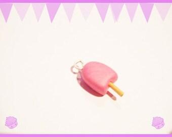 Charm Pearl ice cream Fimo clay polymer ♥ ♥