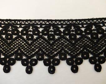 Black Venise Lace