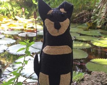 Black Dog Lavender Sachet