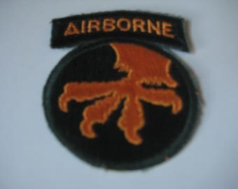 17th Airborne Division With Tab.