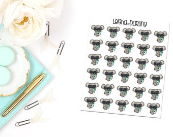 Coffee & Glam Planner Stickers