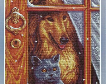 Cross Stitch Kit Home Alone