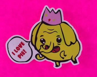"Adventure Time Tree Trunks 3"" vinyl sticker"
