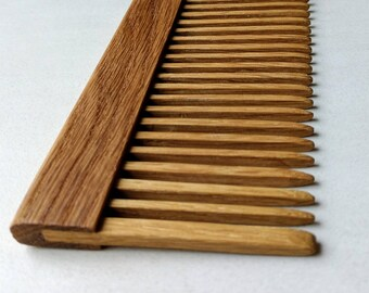 Solid Wood Hair Comb