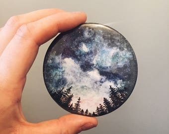 Starry Sky Pocket Mirror
