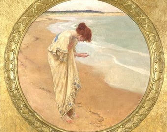 """Trusting Souls """"Morning Prayer"""" Bookmark (Beyond this Day) -Sea of Pearls with Silver Plated Lamb Charm on Lobster Clasp"""