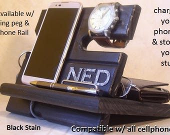 College Student Gift, Graduation Gift, Docking Station, Cell Phone Charging Station, Gift