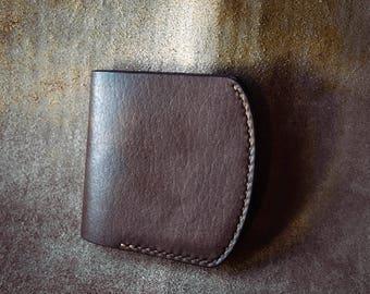 leather billfold axe wallet