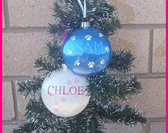 Fur Baby Personalised Baubles.... (Dogs/Pets)