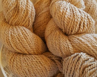 Alpaca Yarn-Light Fawn