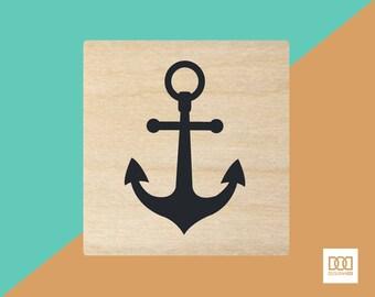 Anchor - 1.5cm Rubber Stamp (DODRS0181)