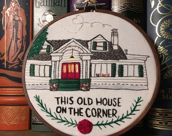 CUSTOM Embroidered Home