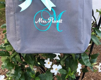 Bridesmaid tote bags, set of 12 bridesmaid gifts , tote bag , beach bag , bachelorette party gift ,wedding bag , wedding tote bags