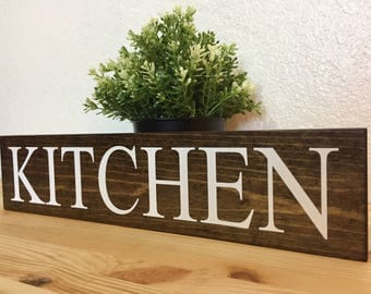 Wooden Kitchen sign, Kitchen decor, Kitchen Sign, Home Decor, Laundry Sign, Pantry Sign, Customized, Personalized, Kitchen, Coffee, Rustic
