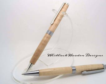 Curly Maple Pen Gift Set