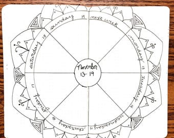 MoxieDori Mandala Maker and Mandala Elements Stencils
