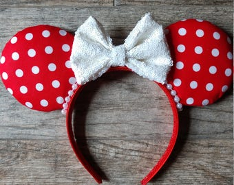 Minnie mouse inspired ears, Mouse ears