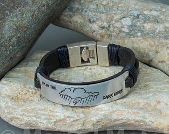 EXPRESS SHIPPING.Mens Leather Bracelet.Custom Mens Leather Bracelet.Leather Mens Bracelet.Men Leather Bracelet.Mens Leather Bracelets.120