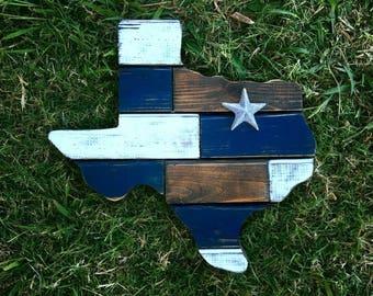 """24"""" Dallas Cowboys Cedar Texas Board"""