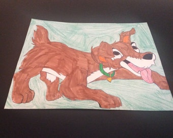 Scamp from Lady and the Tramp 2.
