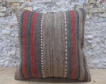 Decoratif coussinde throw pillow kilim cushion 14x14 handmade pillow bedding pillow kilim pillow 14x14 home decor pillow turkey pillow
