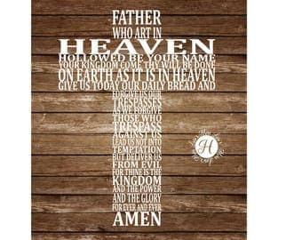 The lords prayer cross  Our Father  Cross SVG DFX Cut file  Cricut Christian svg, scripture svg, cross svg, Commercial license