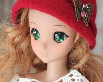 Hat for BJD dolls iplehause 1/3 e.g. Ashanti, Jessica, Carina (for dolls 24-27 inch), Handmade