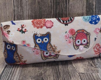 """Owl Love"" purse"