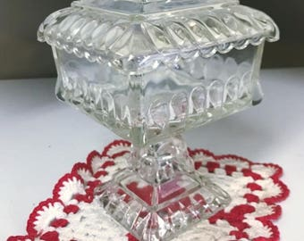 Jeannette Glass Company Candy Dish