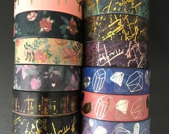 """24"""" SAMPLES of Simply Gilded foil washi tape (M210)"""