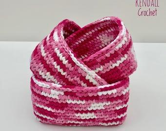 Crochet Baskets (3) Square