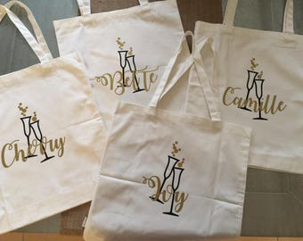 Custom Bags - Bridesmaids