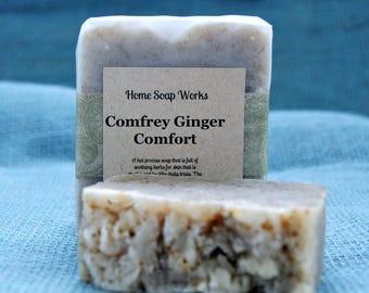 Ginger  Comfrey Comfort Soap