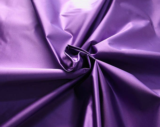 276215-Satin Natural silk 100%, width 135/140 cm, made in Italy, dry cleaning, weight 180 gr