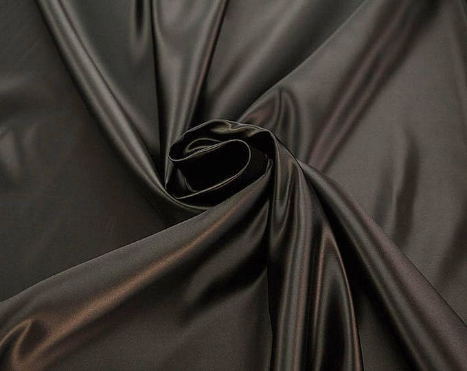978027-Satin 100% polyester, width 150 cm, made in Italy, dry cleaning, weight 260 gr