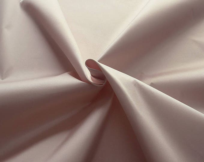 272040-natural Silk Mikado 100%, width 135/140 cm, made in Italy, dry cleaning, weight 190 gr