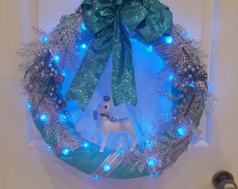 Handcrafted Winter Wreath