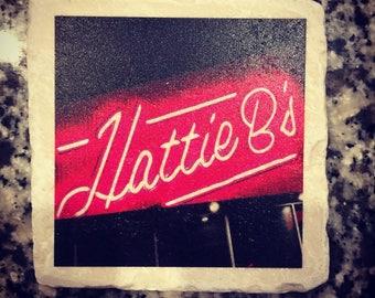 Hattie B's   Hot Chicken   Nashville Coaster   The Nashville Coaster Collection   Custom Gift