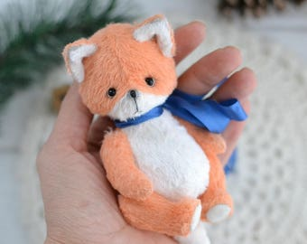 Teddy fox toy artist teddy Stuffed toy stuffed fox toy for gift