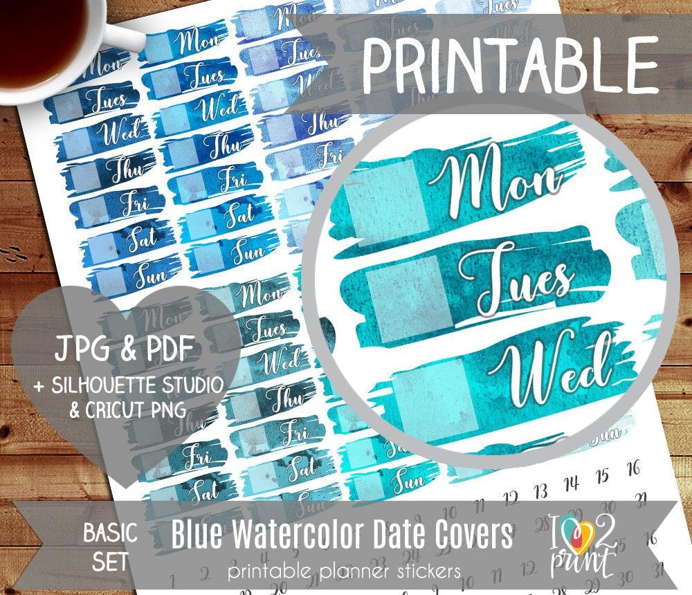 More DIY Erin Condren Life Planner Stickers + Template ...
