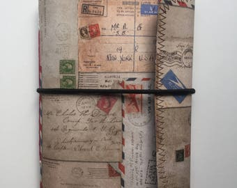 Travel theme envelope junk journal