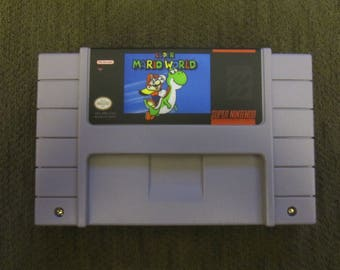 Super Mario World Super Nintendo SNES
